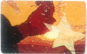 Tarjeta Cantv Usada 2003 Música Serie La Navidad En