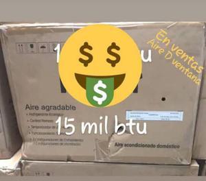 Aire Acondicionado De Ventana De 15 Mil Btu