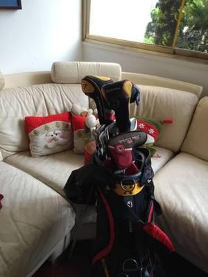 Bolso Y Palos De Golf Taylor Made (excelente Estado)