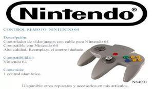 Control De Nintendo 64 Nuevo