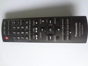 Control Panasonic Original Para Minicomponente Sin Tapa