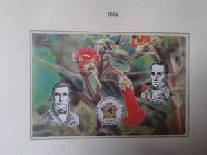 Estampillas De Venezuela - Minihojas  X 66 Mm)