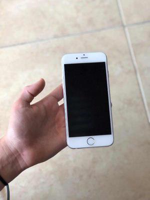 Iphone 6 16gb Silver Telefono Celular Original Accesorios