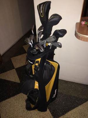 Juego De Palos De Golf Wilson Con Maleta
