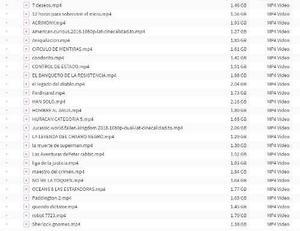 Pack De Peliculas En Formato Digital Full Hd 1080p Mp4