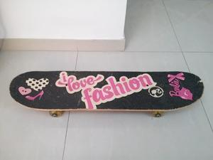 Patineta De Barbie Usada En Buen Estado