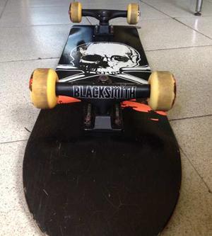 Patineta (skateboard) Atm Truck Black Smith