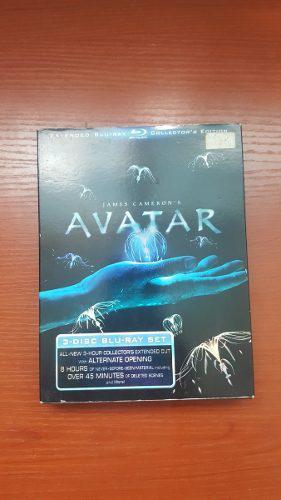 Pelicula Avatar En Blu Ray Coleccion Original