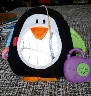 Pinguino Espejo Fisher Price Para Bebe Musical