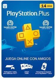 Play Station Plus 14 Dias.