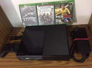 Remato Xbox One 3 Juegos+control (perfecto Para Niño Jesus)