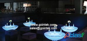 iluminado led mesa bar , decoración de vacaciones