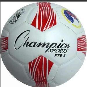 Balón Futsal Fts-3 No 3 Champion Rebote Bajo Vulcanizado