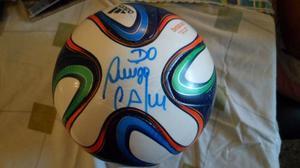 Balon Autografiado Por Cafu En Mundial Brasil