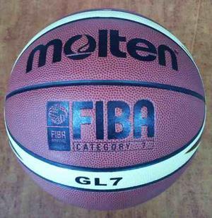 Balon Basket Molten Gl7 # 7 Oficial Olimpiadas Y Mundial