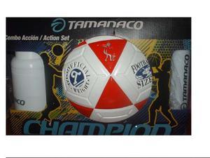 Balon De Futbol N5 Original Tamanaco Termo + Inflador