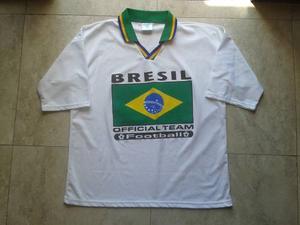 Chemise Deportiva Del Brazil Talla S / M - Made In France