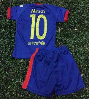 Hermosos Uniformes Futbol Para Niños Real Madrid Barcelona