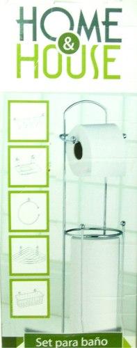 Juego de accesorio para baño cromado 6 piezas somos tienda 0a62eeb03567