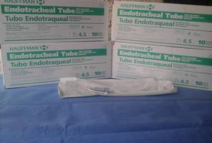 Tubo Endotraqueal Con Balon Nro 4.5 (caja X 10 Unid)