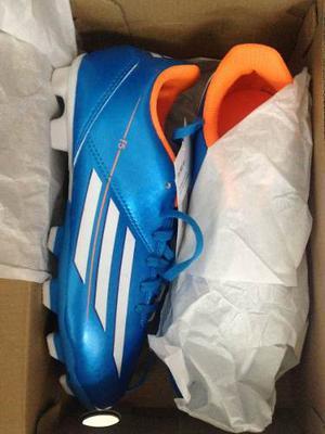 Zapatos Tacos Futbol Para Niños adidas Nuevos