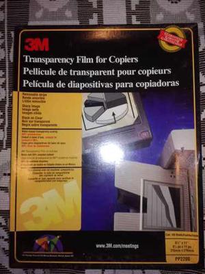 Acetato O Transparencia Para Fotocopiadora O Impresora