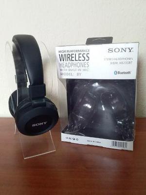 Audifonos Sony Mdr-xb200bt Bluetooth Mp3 Radio Extra Bajo