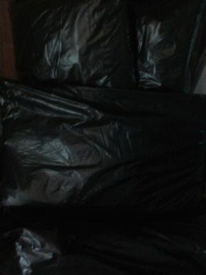 Bolsas Negras Para Basura 40 Kg Calibre  Y 30 Lts