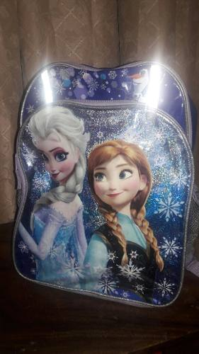 Bolso Escolar Para Niña De Frozen Original