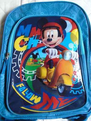 Bolso Morral De Mickey Mouse Niños Disney