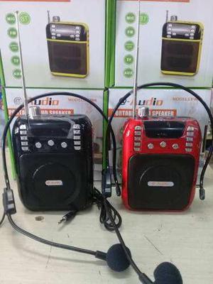 Corneta Bluetooth Radio Usb/pendrive/sd/aux Portátil