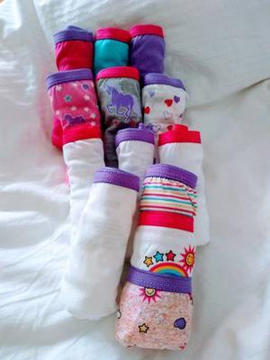 Pantaletas Para Niñas Hanes Nuevas Talla