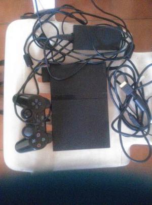 Play Station 2 Con 1 Control Original Memory Card Y Juegos