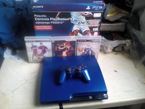 Playstation 3 Con Donwgrade Y Juegos Instalados Con Garantia