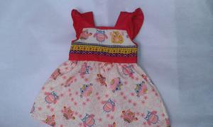 Vestidos De Niñas Tallas 0,3,6 Meses