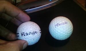 2 Pelotas De Golf Usadas Oigo Ofertas Acepto Trueques