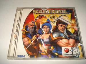 Juego De Coleccion Soul Fighter Sega Dreamcast