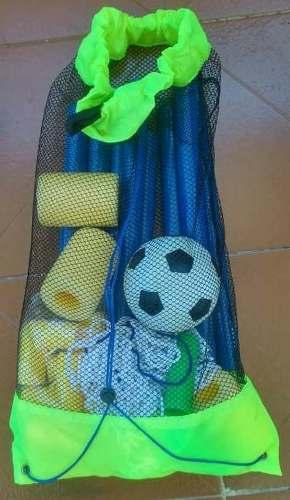 Juegos Set Acuatico Piscina Basketball Y Futbol Para Niños