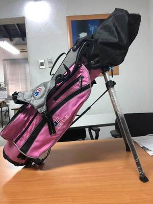Maleta Equipo De Golf Us Kids 45 Niña