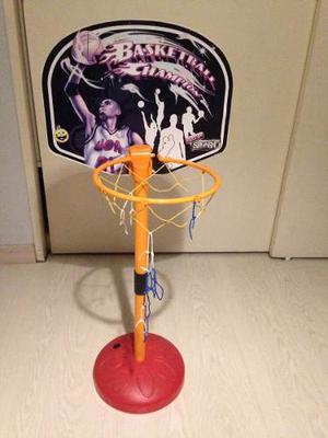 Mini Set De Basket Usado Para Niños