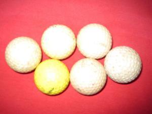 Pelotas De Golf (precio Por Todas)