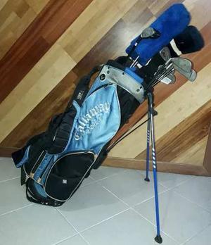 Set De 16 Palos De Golf Con Bolso Callaway