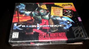 Vendo O Cambio Killer Instinct Snes Original 100% Coleccion
