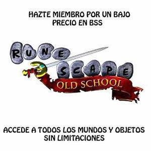 Venta De Oro Runescape Old School Osrs Gold