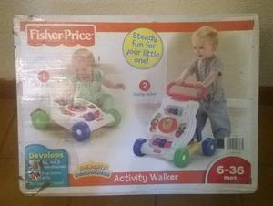 Andadera Fisher Price Activity Walker 2 En 1