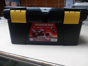 Caja De Herramientas Magnum Box cm. Marca Alfa Hogar.