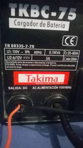 Cargador De Bateria (para Carros) Takima