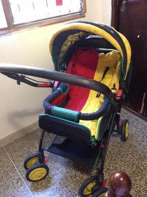 Coche Para Bebés Master Kids Travel 4 Ruedas
