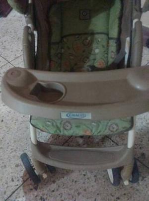 Coche Y Porta Bebé Graco 50 Us Casi Nuevo
