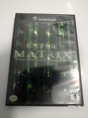 Enter The Matrix Juego De Nintendo Gamecube Para Colección